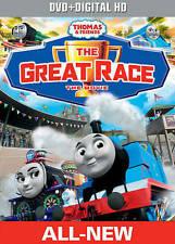 Thomas & Friends: The Great Race - The Movie (DVD + Digital HD), New DVDs