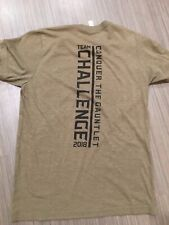 Conquer The Gauntlet Team Shirt, Elite Wrist Band And Finisher Medal