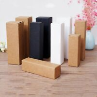 100x kraft paper boxes essential oil home made perfume wedding party favor boxes