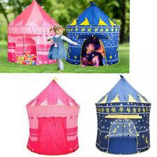 Children's Kids Trampoline Baby Pop Up Play Tent Playhouse Indoor Outdoor Castle