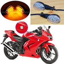 For Kawasaki NINJA 250R 2008-2012 11 Front Rear LED Indicator Turn Signal Light