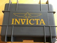 INVICTA  Grey 8-SLOT COLLECTORS IMPACT DIVE WATCH CASE BOX