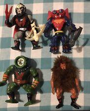 Vintage MOTU He-Man Figure Lot- Hordak, Grizzlor, Leech, & Mantenna