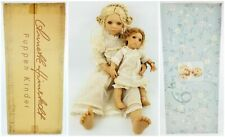 Annette Himstedt Club 1997 Freeke 24� with Her Doll Bibi 12� Puppen Kinder New