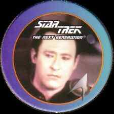 STAR TREK THE NEXT GENERATION, LIUTENANT DATA, STARTDISC POG MILK CAP, # 50