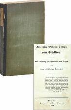 FRIEDRICH WILHELM JOSEPH VON SCHELLING: BEITRAG ZUR GESCHICHTE DES TAGES [1843]