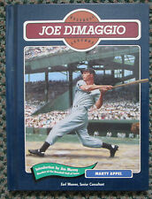 VINTAGE BASEBALL LEGENDS JOE DIMAGGIO BOOK NEW YORK YANKEES RARE