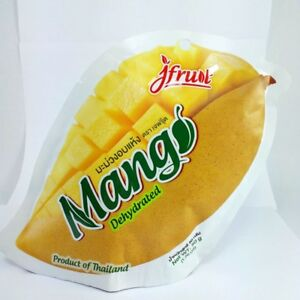 Thai fruit dehydrated mango natural healthy delicious soft tender snack food 6