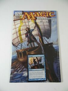 IDW Magic the Gathering Theros #1 with enclosed MTG Card NEW Sealed 2013 Comic