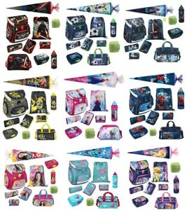 Scooli Schulranzen Set 10tlg. Schultüte 85cm Sporttasche für Mädchen und Jungen