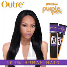 "Outre Purple Pack YAKI 100% Human Hair 8"",10"",12"",14"",16"",18"",20"",22""24"""