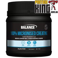 BALANCE 100% MICRONISED CREATINE 500G allmax bsc optimum body science universal