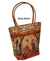 Genuine Leather Ladies Shoulder Hand Bags Women's Designer Embroidered Tote Bag