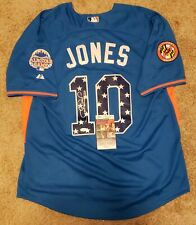 Adam Jones Signed Majestic Baltimore Orioles 2013 All Star Jersey Insc JSA COA