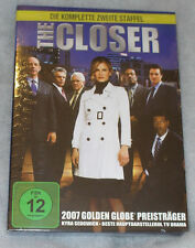 The Closer - Complete Season Series 2 Two - DVD Box Set - NEW SEALED