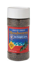 SAN FRANCISCO BAY BLOODWORMS FREEZE DRIED 0.25 OZ FREE SHIPPING TO THE USA