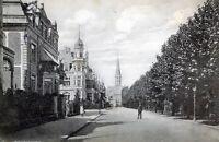 Schöne Ansichtskarte Hannover Hohenzollernstrasse und Markuskirche