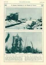 1917 campo di battaglia vicino CLERY combles o Pip
