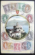 Switzerland~1908 LOCARNO~SWISS STAMPS BRIEFMARKEN PC