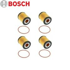 For BMW 3 5 Series X3 X5 Z3 Z4 Set of 4 Engine Oil Filter Bosch Workshop 72202WS