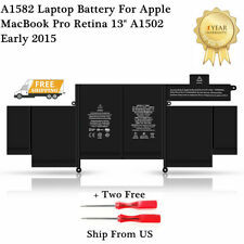 "OEM Genuine Apple MacBook Pro Retina 13"" A1502 Early 2015 A1582 Laptop Battery"