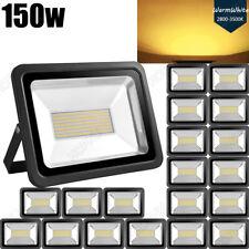 20X 150W LED Flood light SMD Warm White Arena Outdoor Garden Yard Spotlight IP65