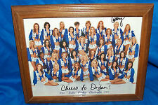 Autographed Dallas Cowboys Cheerleaders Photo Photograph Pictures NFL Football