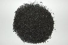 ( 7,96€/kg ) - 250g carga de Carbón - Grano 1,5mm -2 ,5mm - Negro - Redondo -