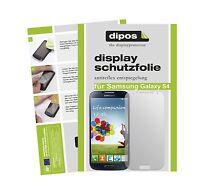 2x Samsung Galaxy S4 Schutzfolie matt Displayschutzfolie Folie Antireflex dipos