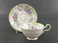 vintage Grafton China, cup & saucer STRATHMORE made in England