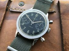 VINTAGE 1968 DODANE TYPE 21 FRENCH MILITARY PILOTS FLYBACK CHRONOGRAPH