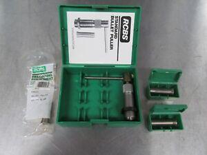 RCBS Bullet Puller + 3 Collets (25, 6.5, 30)