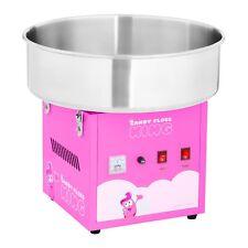 Zuckerwattemaschine Zuckerwattegerät Automat Candymaker 52 cm 1200 W Pink