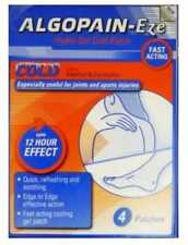 Cold Patches AlgoPain-Eze Cooling for Sprains,Muscle Pain Pack Of 4