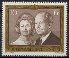 Liechtenstein 1974 SG#601 Prince And Princess MNH Cat £11 #D1181