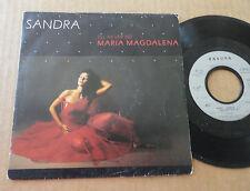 """DISQUE 45T DE SANDRA  """" MARIA MAGDALENA """""""