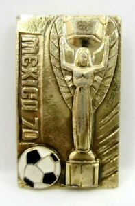 FIFA World Cup Mexico1970 Jules Rimet Cup Soccer Football Pin Badge