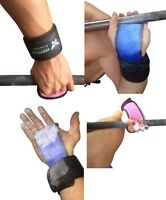 3 Finger ADULT Crossfit Gymnastic Palm protectors Guards With Wrist Support