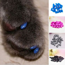 Simple Soft Rubber Pet Dog Cat Kitten Paw Claw Control New Nail Caps