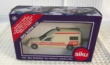 SIKU 1931 Binz Ambulance 144 Rare New in Box 1:55