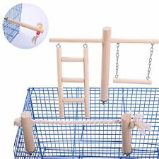 Parakeet Perches Outside Cage Bird Swing Conure Toys Table Cage Top Play