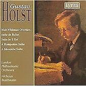 Gustav Holst - Holst: Walt Whitman Overture; Suite de Ballet; Suite in E flat; Etc. (2007)