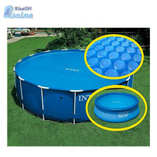 59954 29023 Copertura Solare Estiva Telo Termico piscine easy frame cm 457 Intex