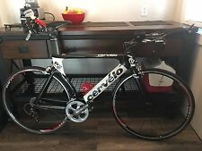 56cm CERVELO P3 P3C CARBON WITH HED AEROBARS SHIMANO DURA ACE (MAKE AN OFFER)