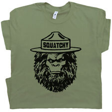Squatchy Sasquatch T Shirt Bigfoot Smokey Appalachian Trail The Bear Hiking Tee