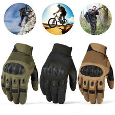 Touch Screen Military Tactical Outdoor Sport Hard Knuckle Full Finger Gloves