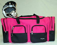 XL Motorcycle atv gear bag motocross off road dirt bike snowmobile pink