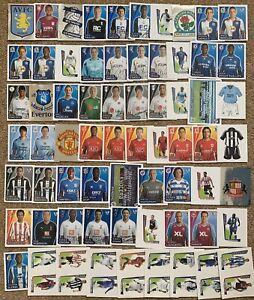 2007 2008 Merlin's Premier League Official Sticker Collection 07/08 JOB LOT x67