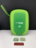 LeapFrog LeapPad Ultra Carrying Case Green With 2 Games