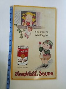 Campbell's soup collectibles vintage 1993 LIMITED EDITION Metal Print #5 AAA Sig